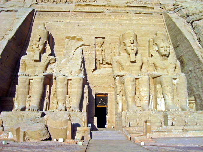 Picture of The Temple of Re-Harakhte at Abu Simbel, Egypt