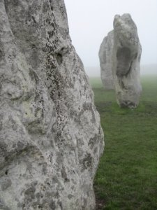 Picture of the Neolithic stone circles at Avebury, England