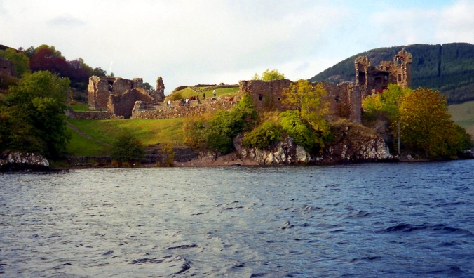 Picture of Urquhart Castle on Loch Ness in Scotland