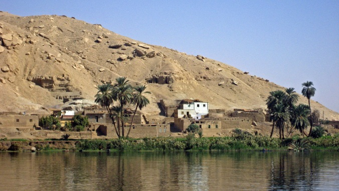 Picture of Nile scenery in Egypt