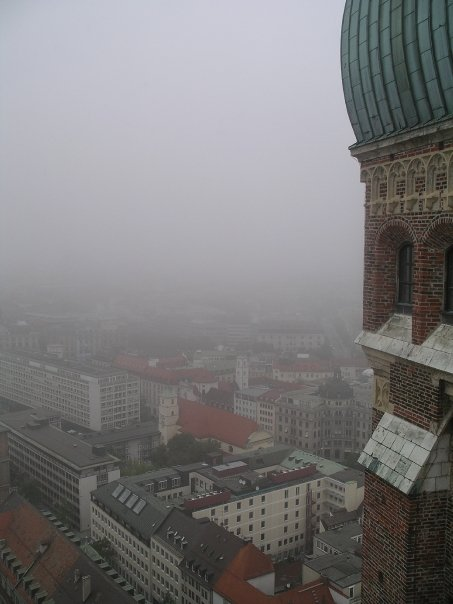 Picture of view from Frauenkirche in Munich, Germany