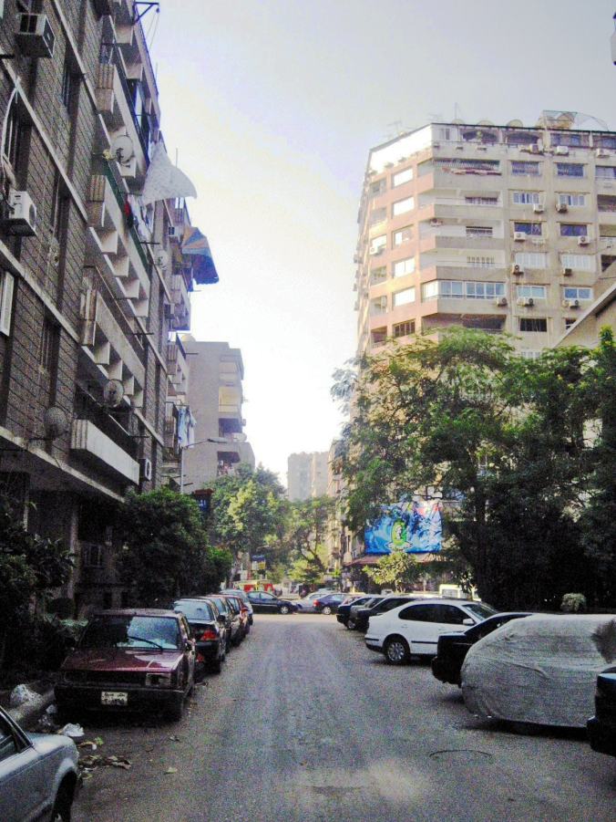 Picture of street in Cairo, Egypt