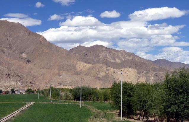 Picture of Tibet landscape