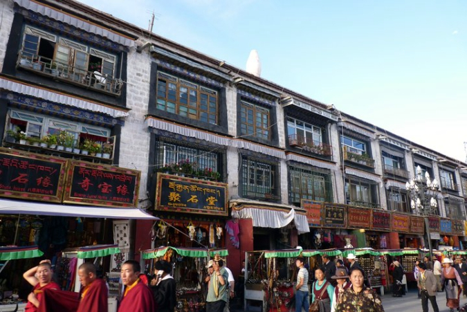 Picture of Barkhor Street in Lhasa, Tibet
