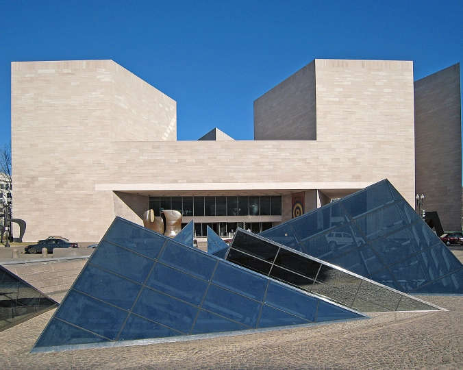 Picture of the East Building of the National Gallery of Art in Washington, DC