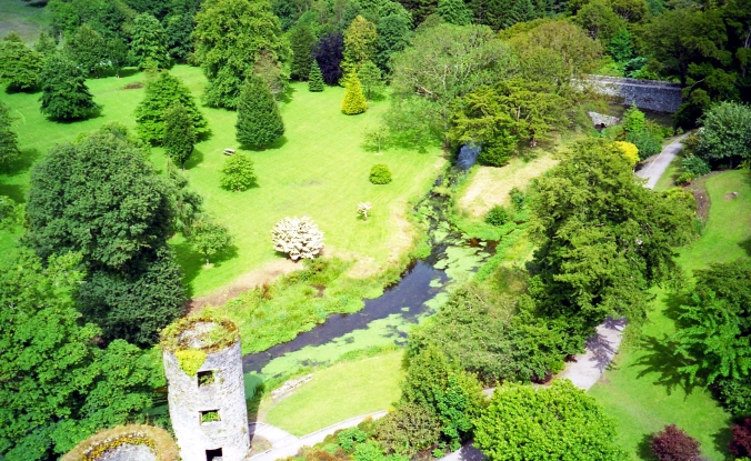 Picture of Blarney Castle in Ireland