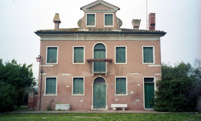 Picture of house on Torcello, Italy