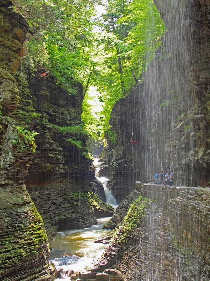 Gorges at Watkins Glen State Park in upstate New York