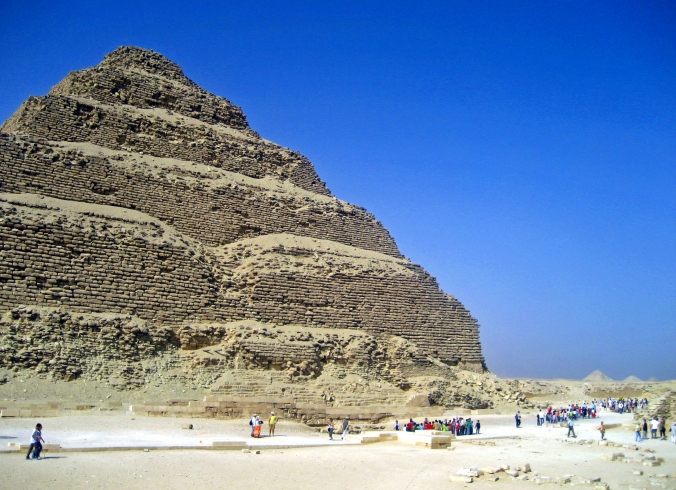 Picture of Pyramid of Djoser at Saqqara in Egypt