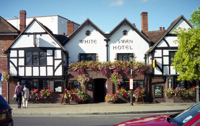 Picture of the White Swan Hotel in Stratford, England