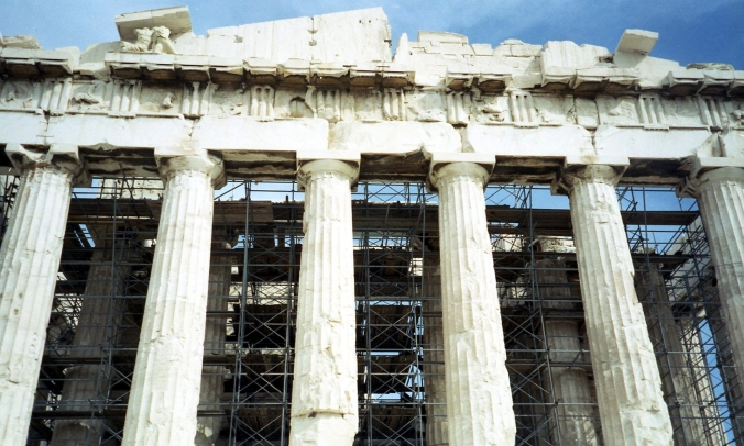 Picture of the Parthenon in Athens, Greece