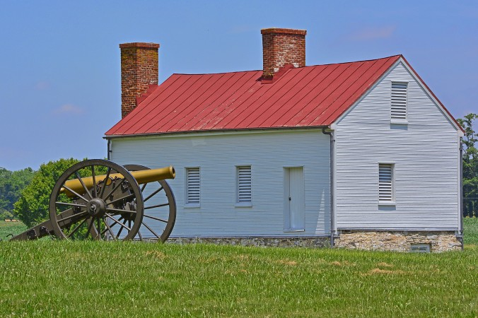 Picture of the Best Farm at Monocacy battlefield in Maryland