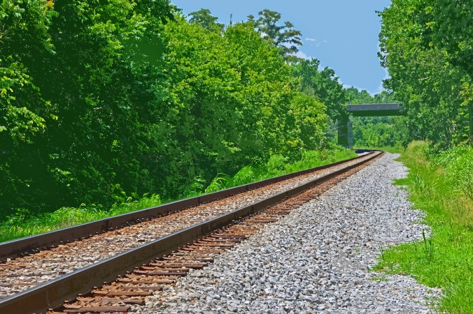 Picture of the B&O Railroad at Monocacy battlefield in Maryland