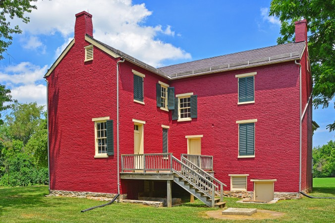 Picture of the Worthington House at Monocacy battlefield in Maryland