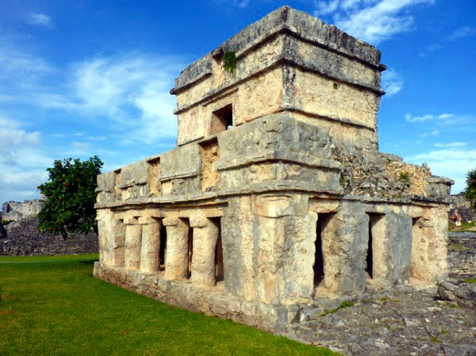 Picture of ruins in Tulum, Mexico