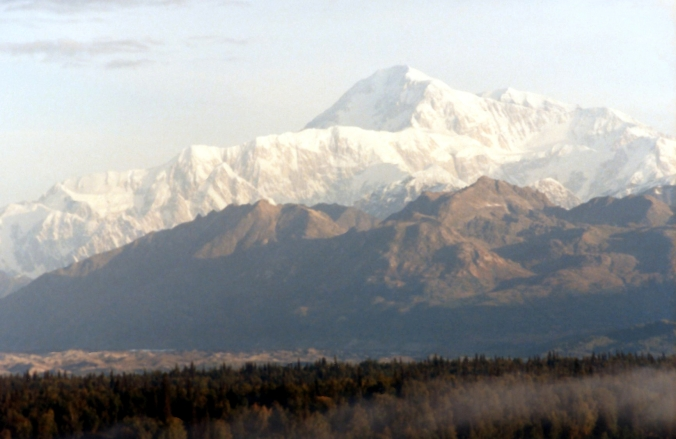 Picture of Mount McKinley in Denali National Park, Alaska