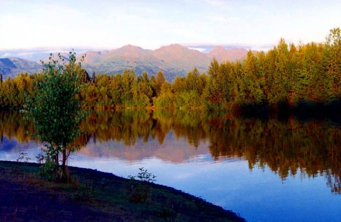 Picture of University Lake in Anchorage, Alaska