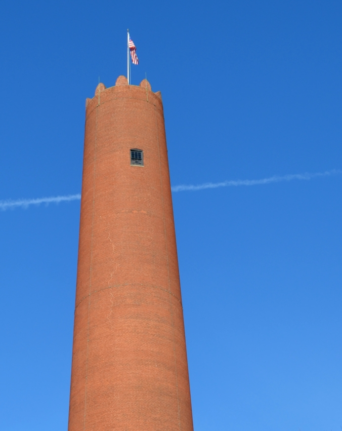 Picture of the Phoenix Shot Tower in Baltimore, Maryland