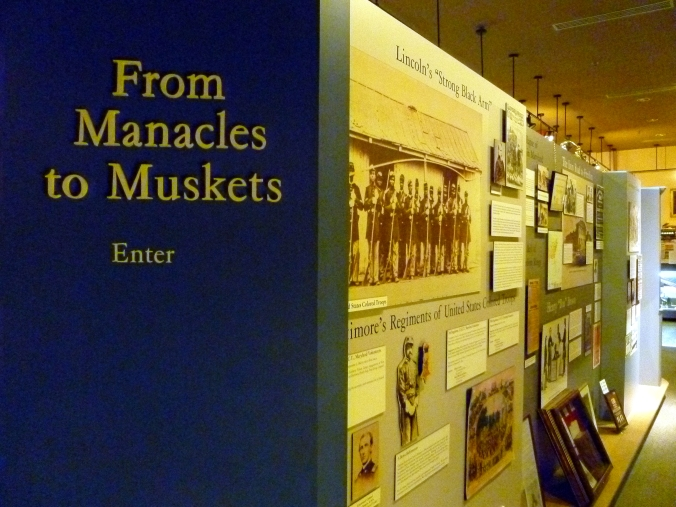 Picture of exhibit at the Baltimore Civil War Museum