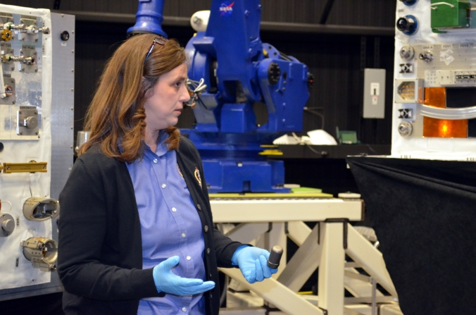 Picture of Jill McGuire, Robotic Refueling Mission Project Manager at Goddard Space Flight Center in Greenbelt, Maryland, USA