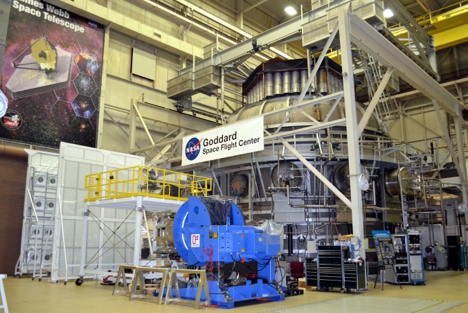 Picture of thermal vacuum chamber at Goddard Space Flight Center in Greenbelt, Maryland, USA