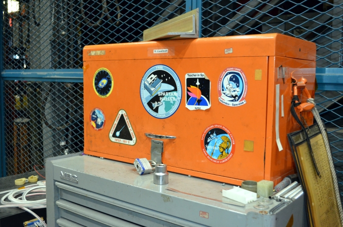 Picture of tool case at Goddard Space Flight Center in Greenbelt, Maryland, USA