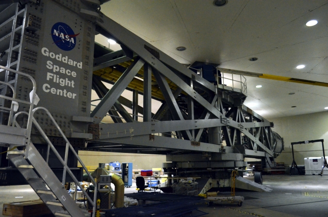 Picture of high-capacity centrifuge at Goddard Space Flight Center in Greenbelt, Maryland, USA