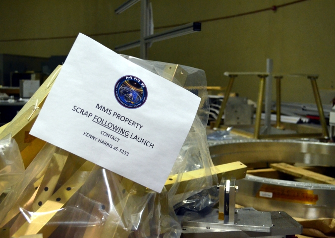 Picture of sign in Goddard Space Flight Center in Greenbelt, Maryland, USA