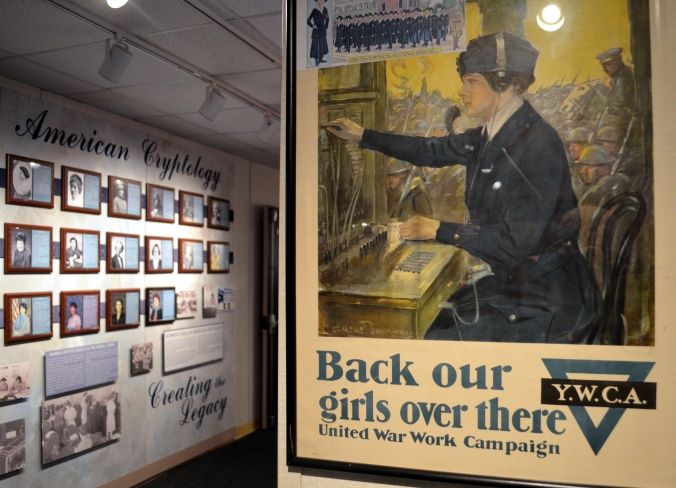 Picture of an exhibit at the National Cryptologic Museum in Maryland, USA