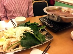Picture of veg hot pot from Chilli Cool in London, UK