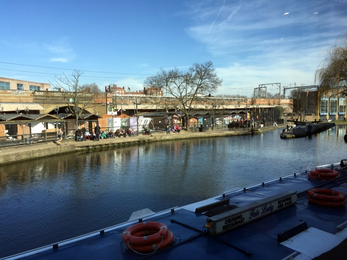 Picture of Regents Canal in London, UK