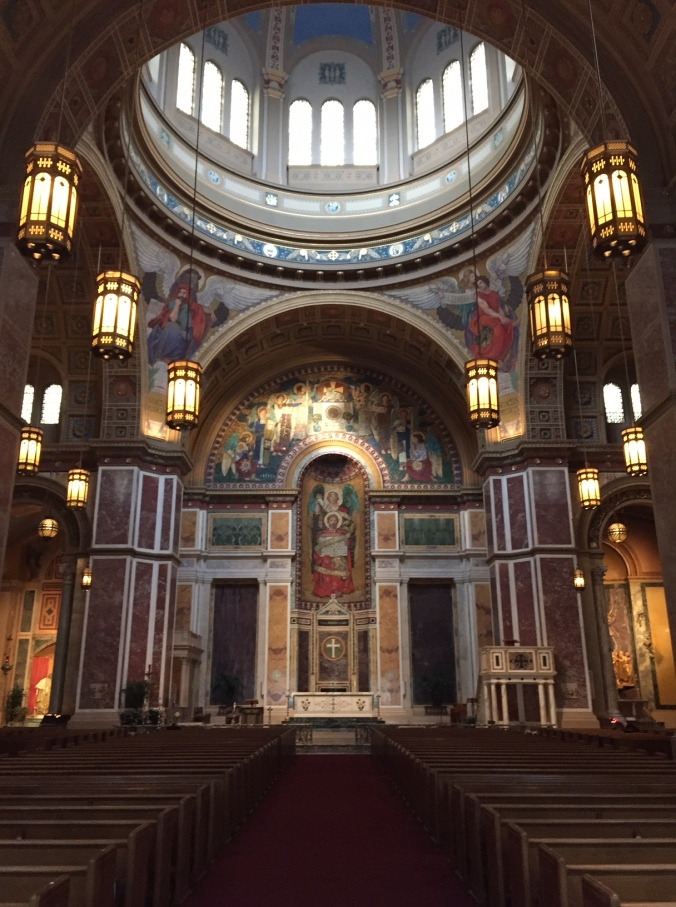 Picture of the Inside of the Cathedral of St. Matthew in Washington, DC